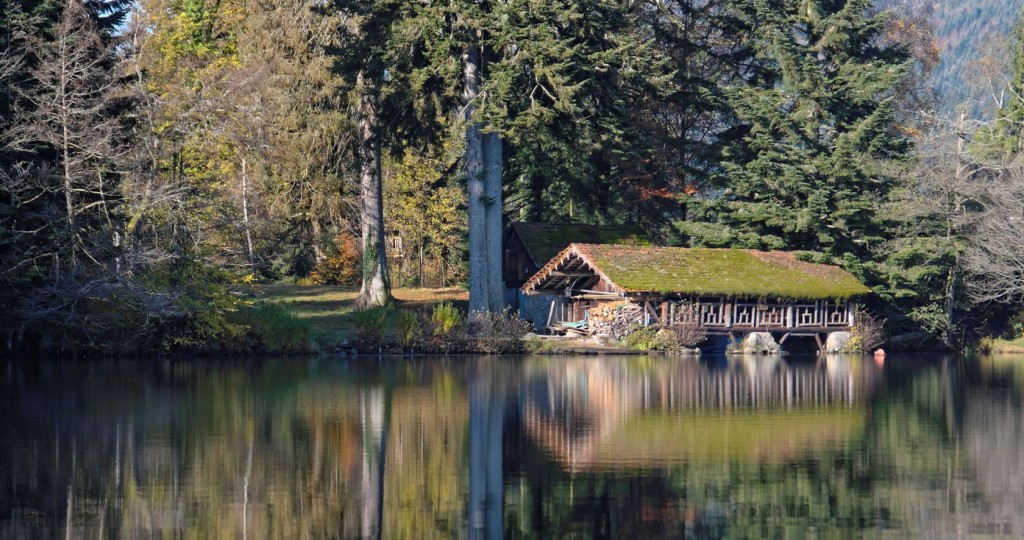 gerardmer cabane lac