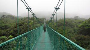 pont suspendu attraction monteverde