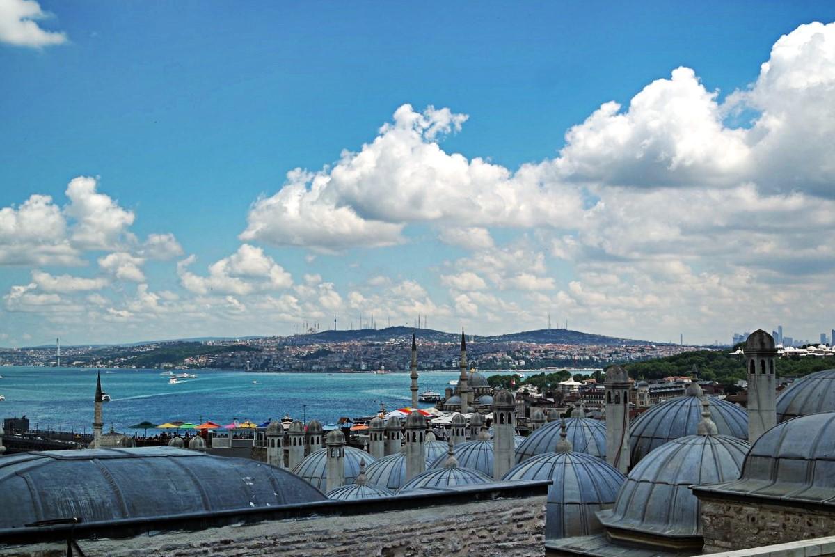 vue bosphore mosquée soulemane istanbul