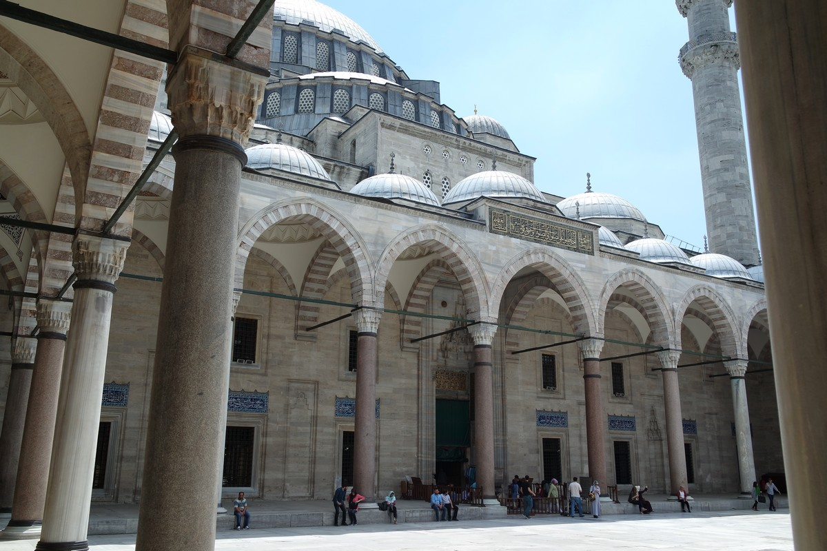 cours mosquee souleymane istanbul